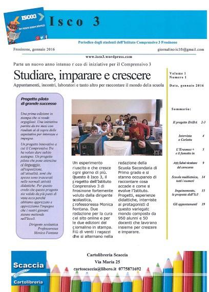 Prima pagina Isco3